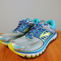BROOKS Women's Size US 9.5 Gray Blue Athletic Glycerin 14 Running Shoes