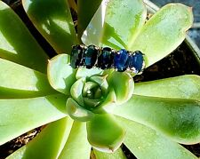 Stunning Natural Sapphire Ladies Ring 5-Stone 2.68 TW Appraised Value $1200 USD