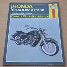 Haynes Honda Shadow Vt1100 Owners Workshop Manual 1985-1998 Reparaturanleitung