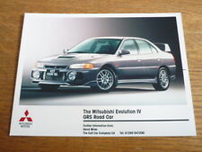 MITSUBISHI Evolution IV GRS PRESS PHOTO
