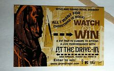 AT THE DRIVE IN DRIVE-IN MTV2  MUSIC 4x6 MINI POSTER FLYER POSTCARD