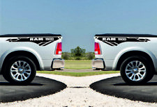 DODGE RAM 1500 - 2pcs side Stripe body Decals racing graphics vinyl sticker logo