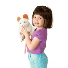 Folkmanis White Mouse 8in Hand Puppet