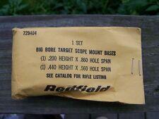 Remington 700 721 788 Redfield Target Scope Bases