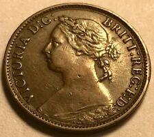 GREAT BRITAIN - Queen Victoria - Farthing - 1882H - KM-753 - Extra Fine