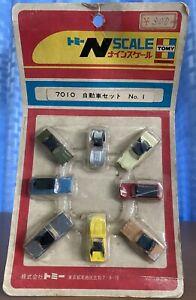 Vintage 1970 Tomy n scale car model hotwheel  popy bandai Choro Q Takara New Jp