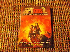 SPY KIDS 2 THE ISLAND OF LOST DREAMS MOVIE PIN oblong pin