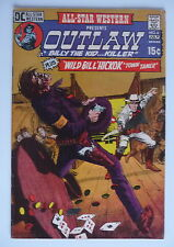 all star western presents outlaw  billy the kid dc comics 1971