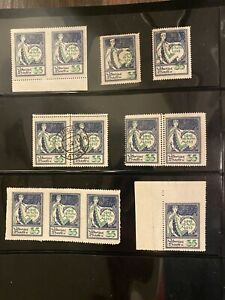 Latvia First Independence 1st Anniversary Variations 35 Smaller Stamp Part 2