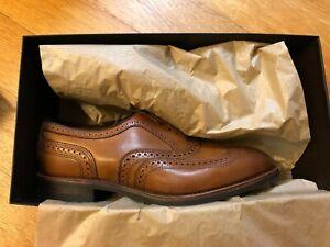 Allen Edmonds McAllister Walnut, 10.5 3E, Factory Second Brand New In Box