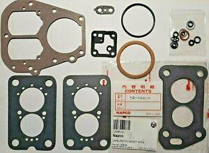 Mitsubishi MD173979 Carburetor 4G54 gaskets repair KIT Napco 120981M