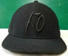 The Weeknd XO New Era strapback cap hat black wool