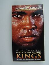 Muhammad Ali When We Were Kings VHS Video Tape