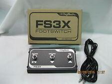 fs3x footswitch digitech foot switch