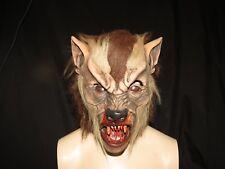 Alpha Wolf Latex Wolf Mask Zagone Studios.UK Stock,Video Clip.