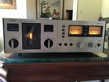 TEAC A-400 Stereo Cassette Deck Repair or Parts