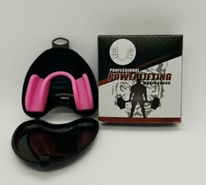 A+ Professional Powerlifting Mouthguard RED With Storage Case FREE SHIPPING