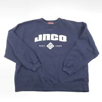 Vintage JNCO Men's XL Crew Neck Sweatshirt Rare Spell Out Made Russia