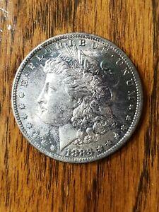 1883 O Morgan Silver Dollar Almost Uncirculated, 90% Silver $1 Coin US