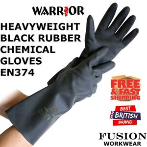 CHEMICAL GLOVES,HEAVYWEIGHT RUBBER,HEAVY DUTY,DEEP CLEANING,LAB,CARWASH,WORK,VET