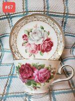 Teacup And Saucer Fine Bone China  Grace's Teawear