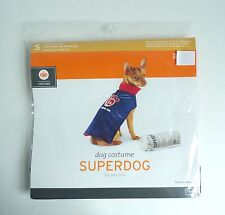 Dog Superdog Halloween Costume Size Small 5 -15 lbs 2.3 -6.8 kg Dress Up Outfit