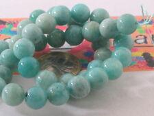 1 filo di 42 perle in amazonite da 10 mm lungo 42 cm top quality