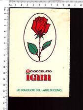 CARTOLINA CIOCCOLATO ICAM - VIAGGIATA