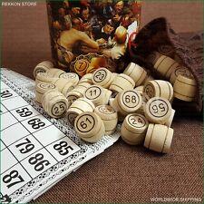 UKRAINIAN COSSACK LOTTO BINGO Board UKRAINE  Game Wooden barrels Russian Loto