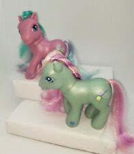 My Little Pony G3 Green Banjo Blue Toys-r-Us Exclusive Pink Toola Roola #1 Lot