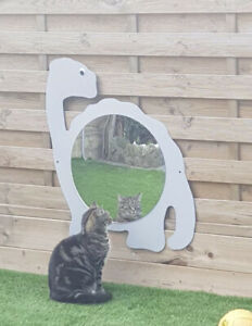 Children's Outdoor Dinosaur Mirror Garden Handmade Large Size Nursery School