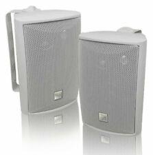 Sold in Pair - 3-Way Audio Outdoor Indoor Speakers Powerful Bass Weatherproof