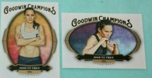 JINH YU FREY LOT OF 2 2020 GOODWIN CHAMPIONS #4&54 MMA