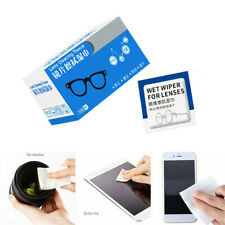 100Pcs Lens Cleaning Wipes For Eye Glass Screen Optical Camera Phone Cleaner