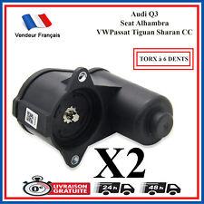 2X Servo Moteur électrique d'etrier de frein arriere 3C0998281 AUDI SEAT VW NEUF