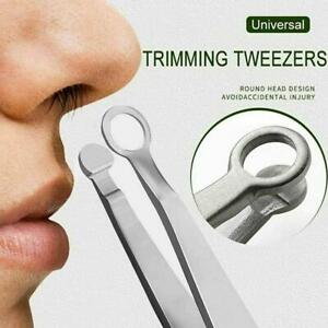 Steel Nose Hair Trimmer Eyebrow Clip Universal Round Head Beauty Clip