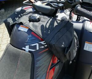 TMP Quad - ATV Tank Gepäcktasche - Seitentasche schwarz Tasche Seite Fender