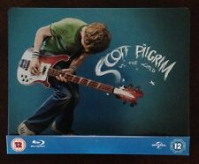 Scott Pilgrim vs The World Blu Ray Steelbook UK Play.com RARE