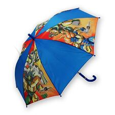 Bambini Bambini Cartoni Animati GORMITI Ombrello PVC Blu Ombrello Bambini Bambine Ufficiale Novità