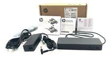 HP USB-C Universal Dock 1MK33UT#ABA For Elitebook, Probook, & Chromebook Laptops