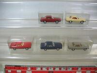 L63-0,5# 5x Wiking H0, Mercedes-Benz MB, 12 140, 350 SL, TOP+1xOVP