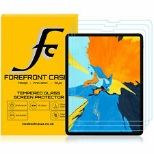 Apple iPad Pro 11 2018 Tempered Glass Screen Protector Guard HD Cover | 3 Pack