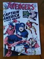 The Avengers # 4 Silver Age Replica Edition Mint Captain America