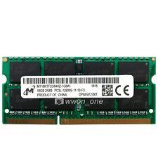 Micron 16GB 2Rx8 PC3L-12800 DDR3 1600Mhz SODIMM Laptop Memory Non-ECC RAM 204Pin