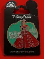 Disney Parks Enamel Pin Badge on Card Elena Avalor Character