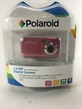 Polaroid a200 2.0 MP Digital Camera - Pink Enhanced Resolution CD Rom Software