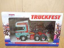 Corgi CC13704 Truckfest Scania R series Pollock (Scotrans) Ltd Ed. 0001 of 2520