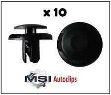 10x Plástico Mitsubishi Parrilla, Rueda Arch Forro, Protector de salpicaduras & parachoques Trim Clips