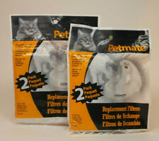 2 Petmate Replacement Filters - 2 Pack - Deluxe Fresh Flow - Free shipping