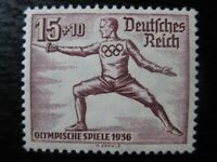 THIRD REICH Mi. #614 mint MNH Summer Olympics stamp! CV $55.00